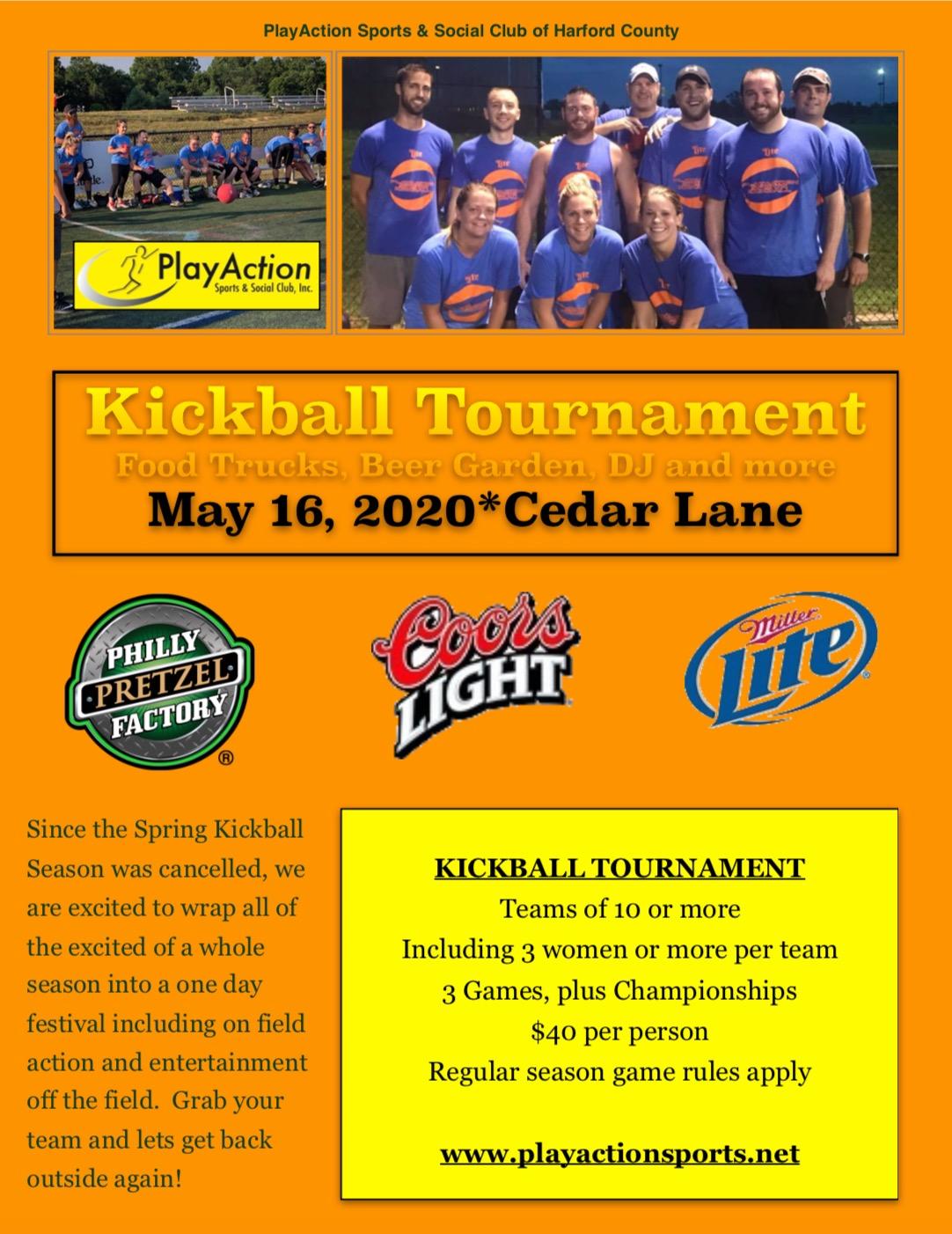 PAS - 1 Day kickball tournament 2020